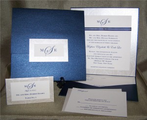 wedding pocket invitations