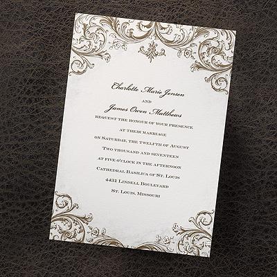 Carta Bella Vintage Invitations